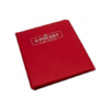 Blackfire 4 Pocket Card Album - Red