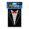 Legion - Matte Sleeves - Tuxedo Double Matte Sleeves (50 Sleeves)