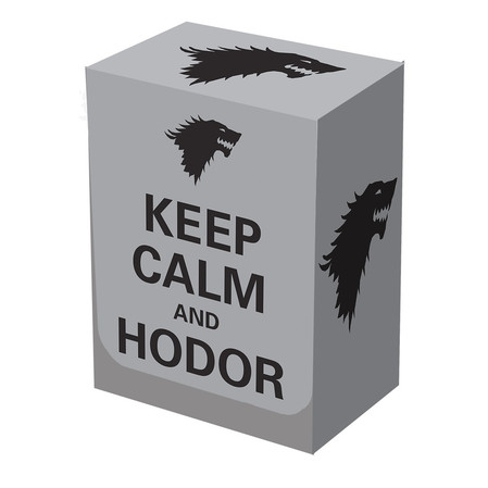 Keep Calm and Hodor Deck Box
