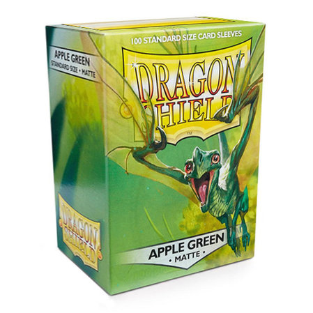 Dragon Shield Standard Sleeves - Matte Apple Green (100 Sleeves)