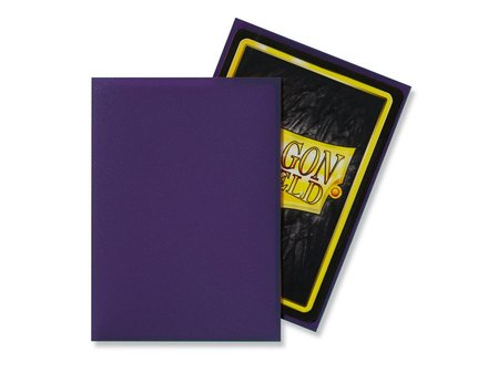 Dragon Shield Standard Sleeves - Matte Purple (100 Sleeves)