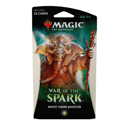 War of the Spark Theme Booster - White