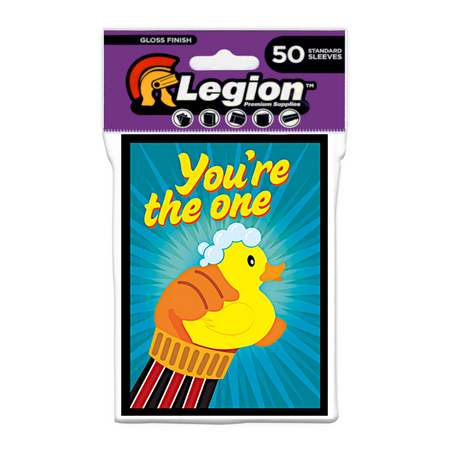 Legion - Gloss Standard Sleeves - Ducky (50 Sleeves)
