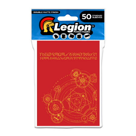 Legion - Matte Sleeves - Alchemy Double Matte Sleeves (50 Sleeves)