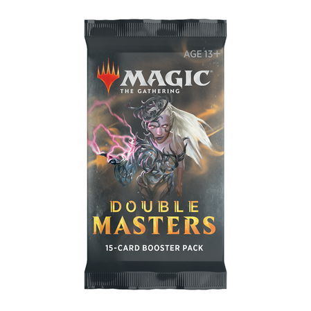 Double Masters Draft Booster Display