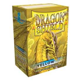 Dragon Shield Standard Card Sleeves - yellow