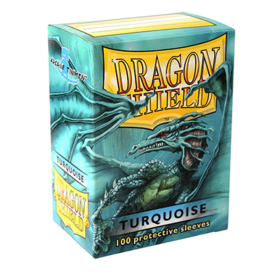 Dragon Shield Standard Card Sleeves - turquoise