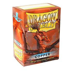 Dragon Shield Standard Card Sleeves - copper