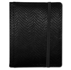 Legion - 4 Pocket Dragonhide Binder - Black