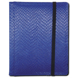 Legion - 4 Pocket Dragonhide Binder - Blue