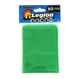 Legion - Matte Sleeves - Green Double Matte Sleeves (50 Sleeves)