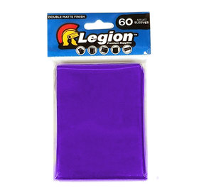 Legion - YGO Sleeves - D-Matte Purple (60 Sleeves)