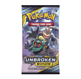 Sun & Moon 10: Unbroken Bonds - Booster Pack