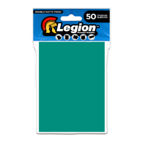 Legion - Matte Sleeves - Teal Double Matte Sleeves (50 Sleeves)