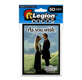 Legion - Double Matte Sleeves - Princess Bride: As You Wish (50 Sleeves)