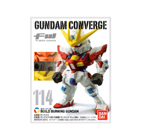 Gundam Converge S20  Build Burning Gundam