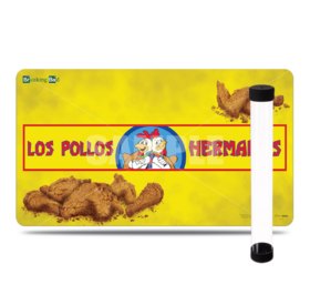 2 in 1 - Breaking Bad Los Pollos Playmat + Tube
