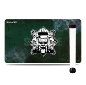 2 in 1 - Breaking Bad Heisenberg Playmat + Tube