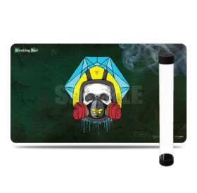 2 in 1 - Breaking Bad Golden Moth Playmat + Tube
