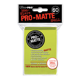 Pro-Matte Bright Yellow Small Deck Protectors