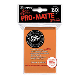 Pro-Matte Orange Small Deck Protectors