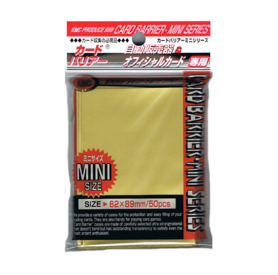 KMC Mini Card Barriers Gold