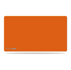 Artist Gallery Solid Orange Play Mat