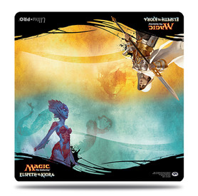 Elspeth vs. Kiora Duel Play Mat